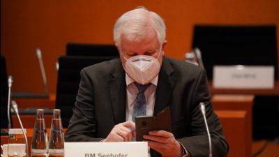 Seehofer will Katastrophen-Warnung per SMS durchsetzen
