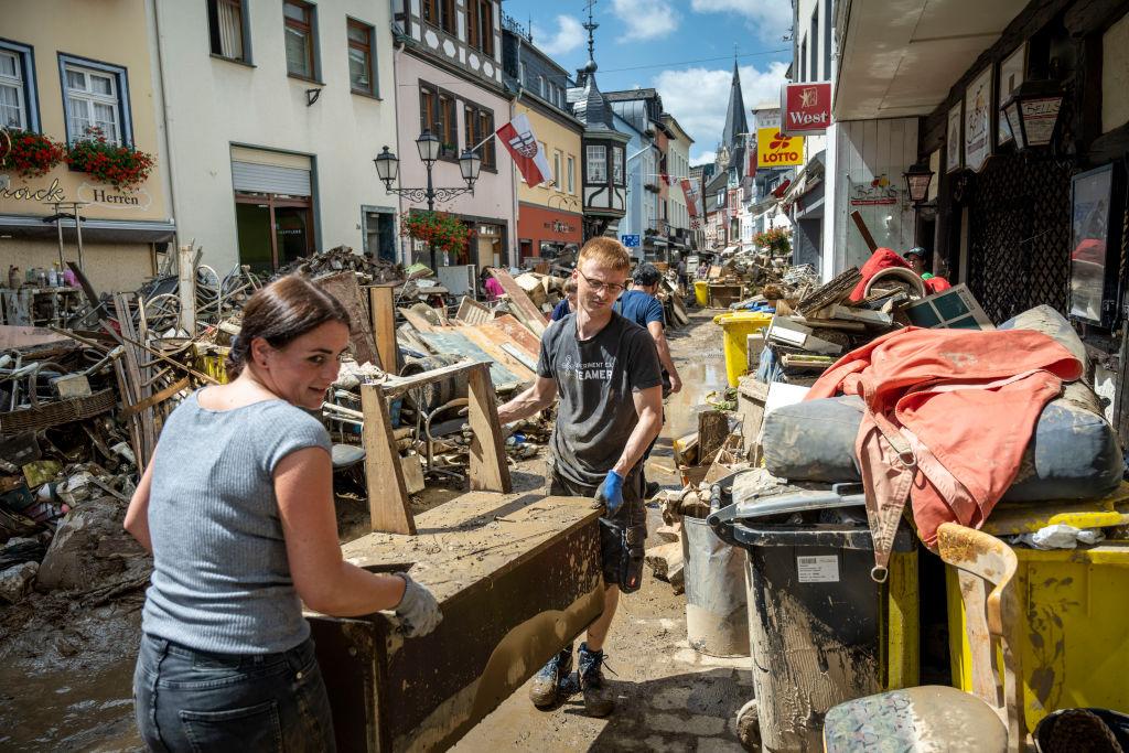 Mobilfunknetz in Hochwassergebieten noch immer lückenhaft