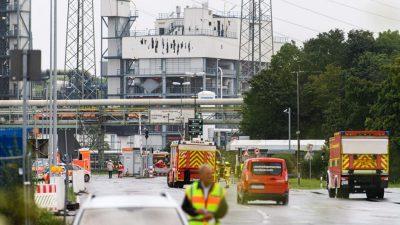 Drei weitere Vermisste nach Chemieunglück in Leverkusen tot geborgen