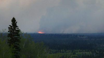 Mehr als 170 Waldbrände im Westen Kanadas – Flammenmeere auch in Kalifornien