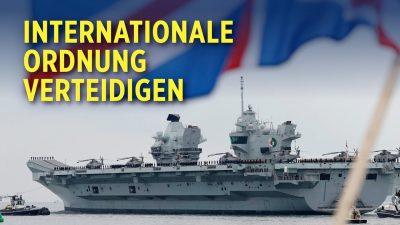 Chinas aggressive Expansion: Großbritannien stationiert Kriegsschiffe in asiatischen Gewässern