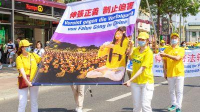 Berlin: Falun Gong-Praktizierende fordern zum 22. Jahrestag der Verfolgung ein Ende der Verbrechen