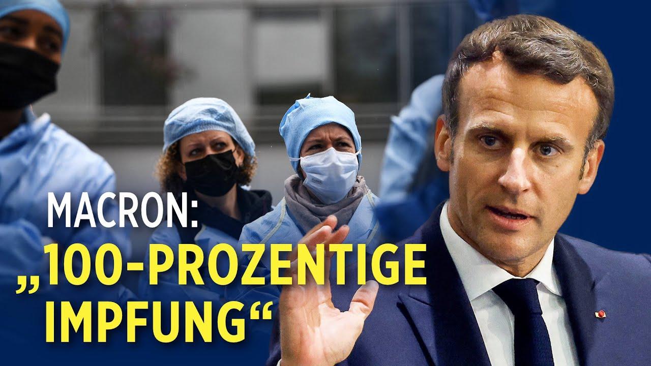 Frankreich führt Impfpflicht für Mitarbeiter des Gesundheitswesens ein