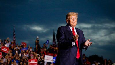 Trump: Republikaner werden die Meinungsfreiheit in Amerika wiederherstellen