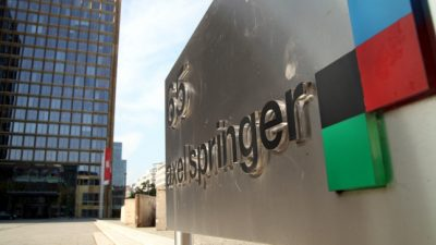"""""""Bild-Zeitung"""" startet echten Fernsehsender am 22. August"""