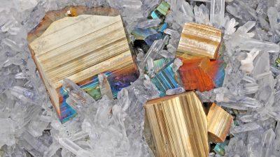 Pyrit wertvoller als gedacht: Forscher finden echtes Gold in Katzengold
