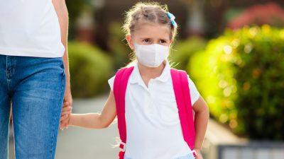 Gesichtsmasken für Kinder nutzlos und schädlich
