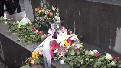 Autokorso für tote Leonie (13): Blumen vor dem Kanzleramt – Wirbel um Polizei-Foto