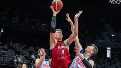 Deutsche Basketballer mit Sieg über Russland im Halbfinale