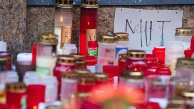 Nach der Messerattacke: Würzburg trauert um Opfer
