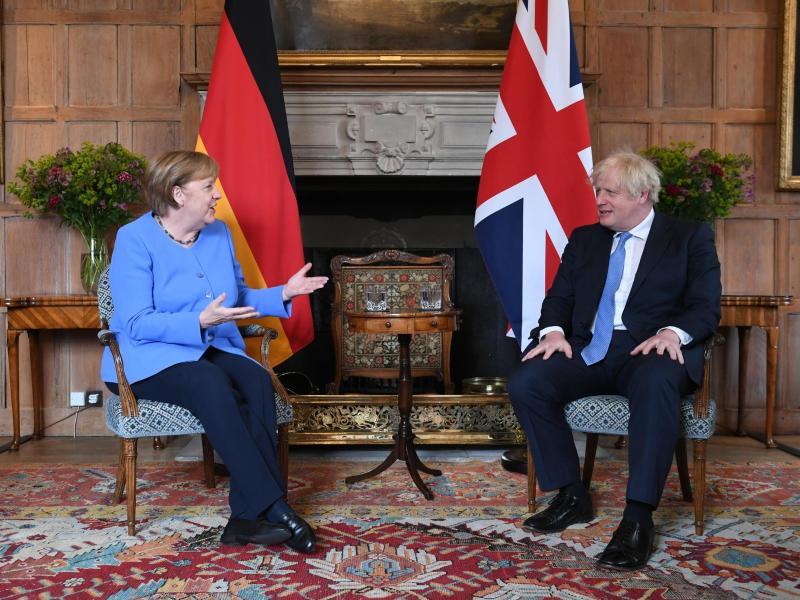 Merkel und Johnson beschwören Neuanfang – Differenzen bleiben