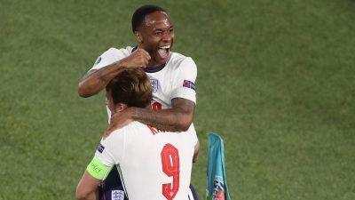 """England erstmals seit 1996 wieder in EM-Halbfinale: """"Es ist ein großartiges Gefühl, hier so zu gewinnen"""""""