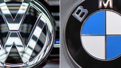 EU verhängt 875-Millionen-Euro-Geldbuße gegen VW und BMW