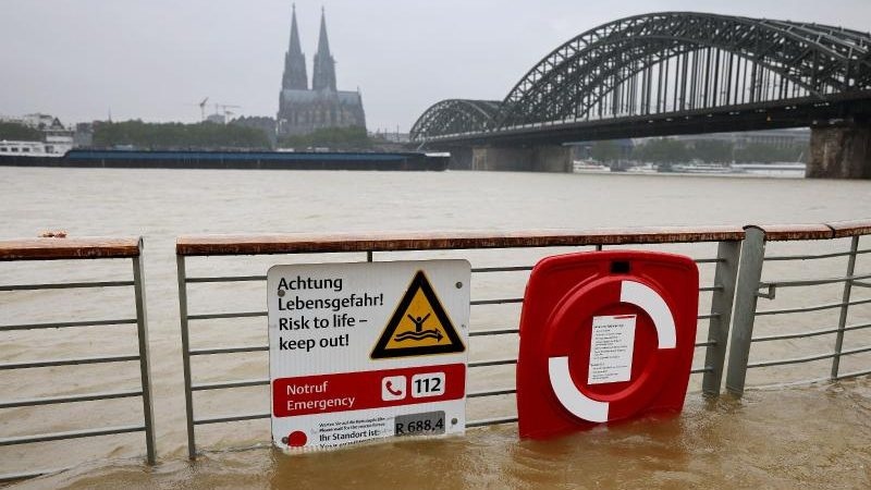 Deutscher Wetterdienst warnt vor Starkregen