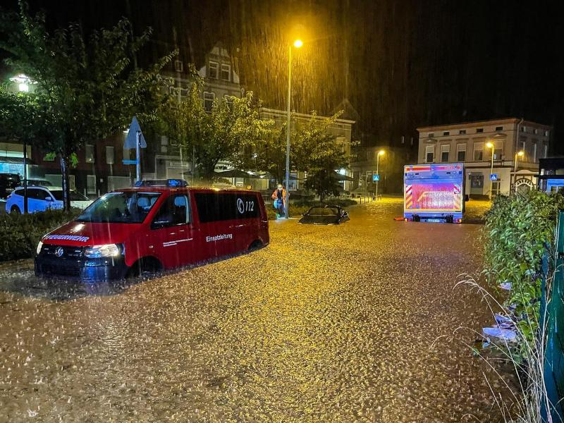 Hagelschlag, Überschwemmungen und Sturzflut – Todesfall in Sachsen