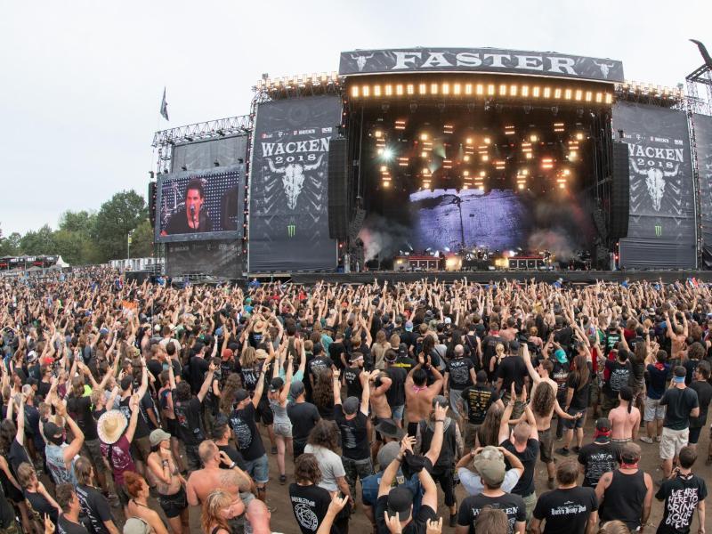 Heavy-Metal-Festival in Wacken 2022 ausverkauft