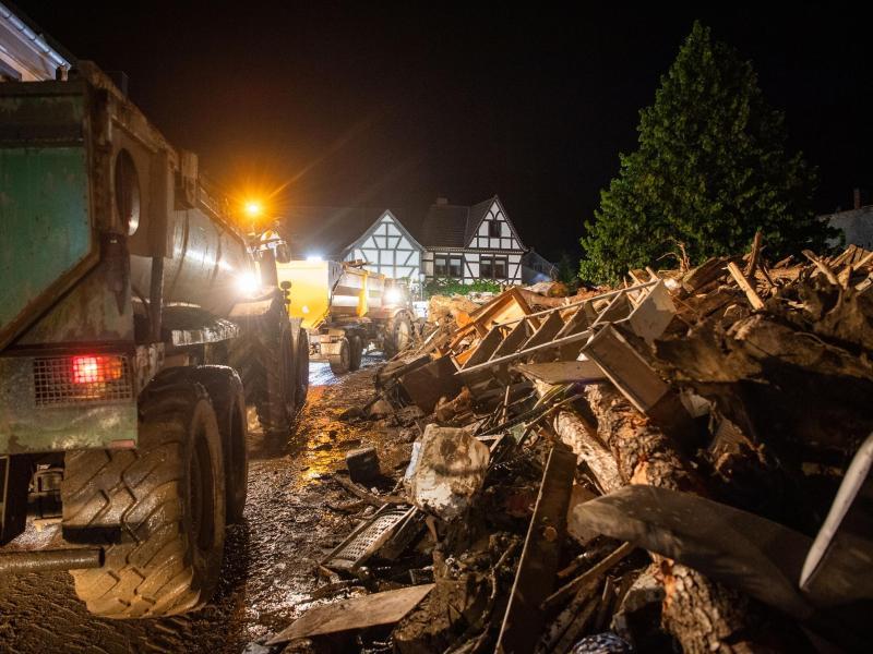 Hochwasser: Polizei Koblenz meldet über 90 Tote