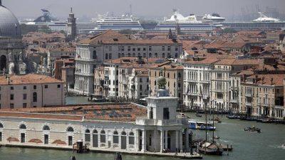 Venedig entgeht einer Einstufung als gefährdetes Welterbe