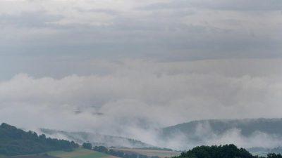 Wetterdienst meldet wieder Schauer und Gewitter