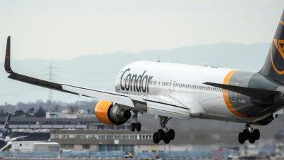 EU erlaubt 525-Millionen-Beihilfe für Ferienflieger Condor – Ryanair hatte dagegen geklagt