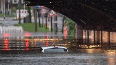 Hochwasser kostet Versicherer bis zu 5,5 Milliarden Euro