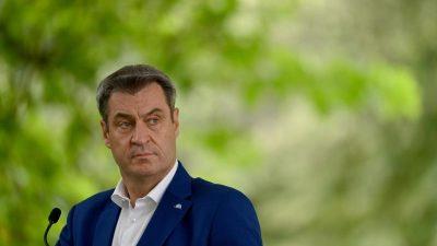 CSU-Chef Söder dringt erneut auf früheren Kohleausstieg