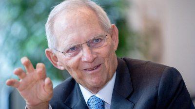 Schäuble: CO2-Preis muss schneller steigen – Kosten für Klimamaßnahmen treffen alle