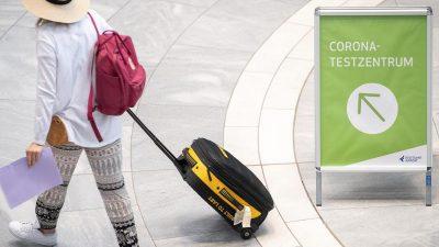 Corona: Welche neuen Einreise-Regeln gelten ab Sonntag, 1. August?