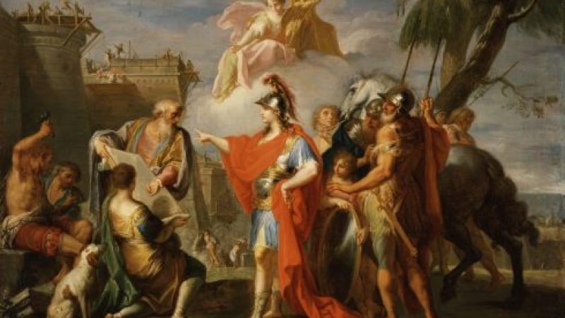 Wie Alexander der Große groß wurde