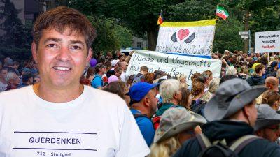 """""""Regierungskritik ist nicht erlaubt"""" – Michael Ballweg im Interview"""