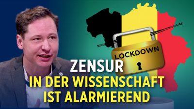 Belgien: Akademiker stellt Lockdown-Maßnahmen in Frage und verliert seinen Job