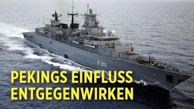 """Zur Verteidigung internationaler Ordnung: Deutsches Kriegsschiff """"Bayern"""" im südchinesischen Meer"""