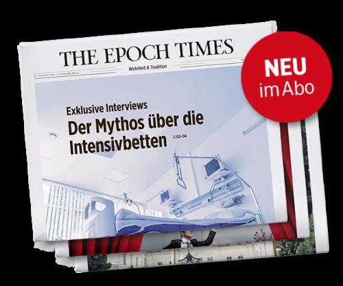 Jetzt erhältlich: Epoch Times Wochenzeitung #7