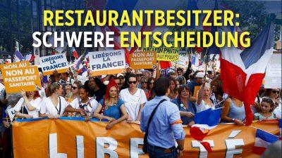 Frankreich: Restaurantbesitzer wollen Gesundheitspass nicht kontrollieren