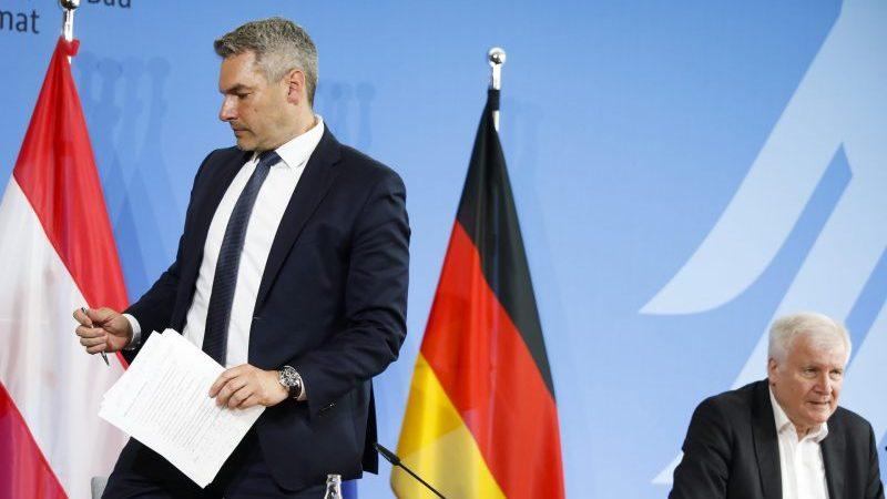 Nehammer weist Seehofer-Kritik bei Migration zurück: Sozialer Frieden muss gewährleistet bleiben