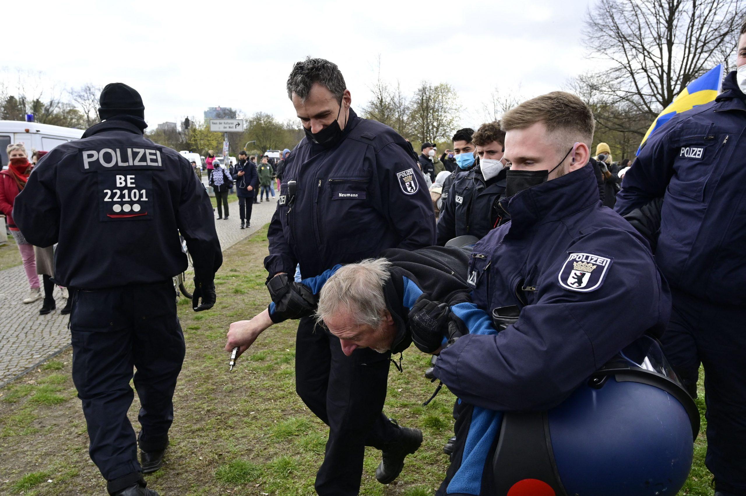 Besondere Härte bei Querdenker-Demos? Geleakter Einsatzbefehl an UN-Sonderbeauftragten geschickt