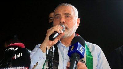 Wahl: Ismail Hanijeh als Chef der Hamas bestätigt