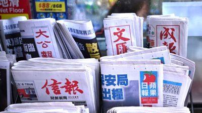 Peking missbraucht Hongkonger Medien für politische Propaganda in den USA