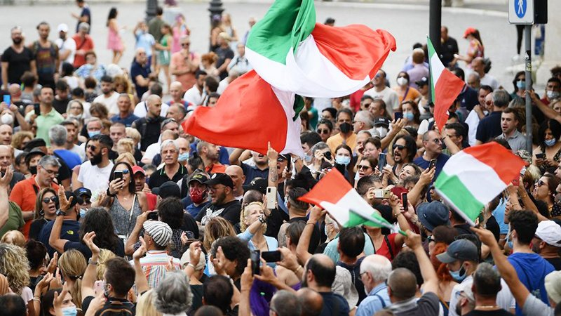 Corona-Gesundheitspass wird im öffentlichen Verkehr in Italien obligatorisch