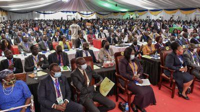 Neues Parlament im Südsudan eingeschworen