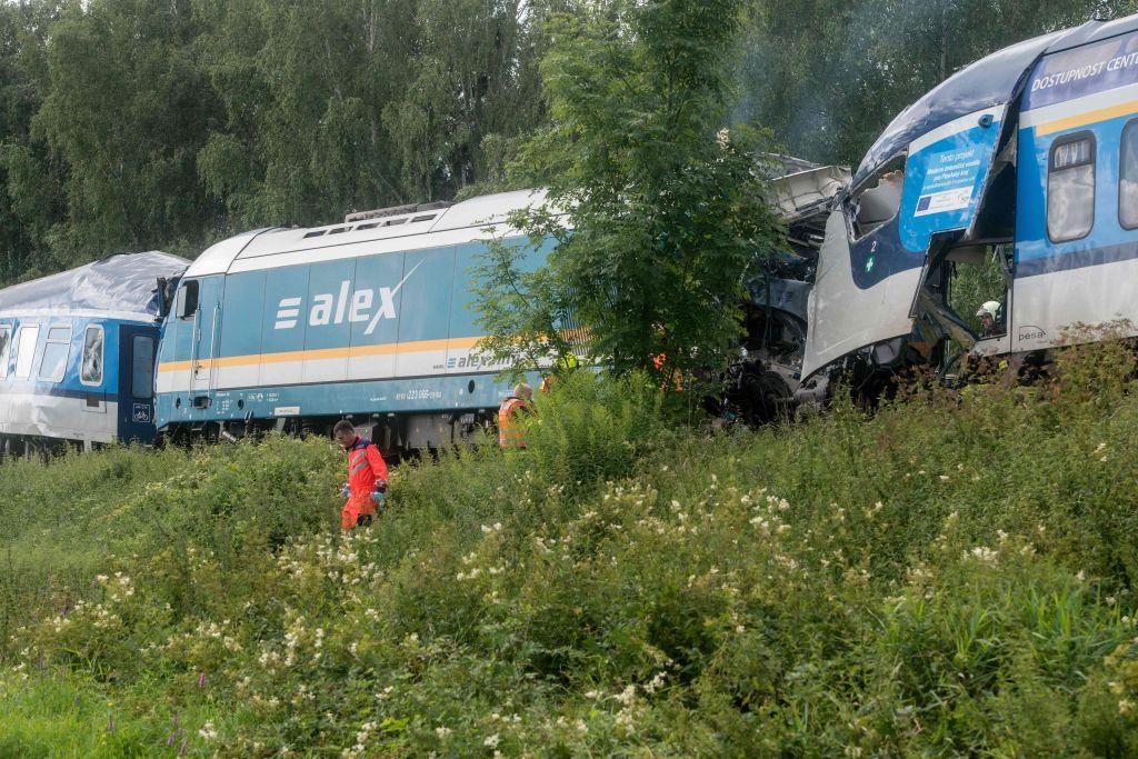 Tote und Verletzte bei Zugunglück nahe bayerischer Grenze in Tschechien