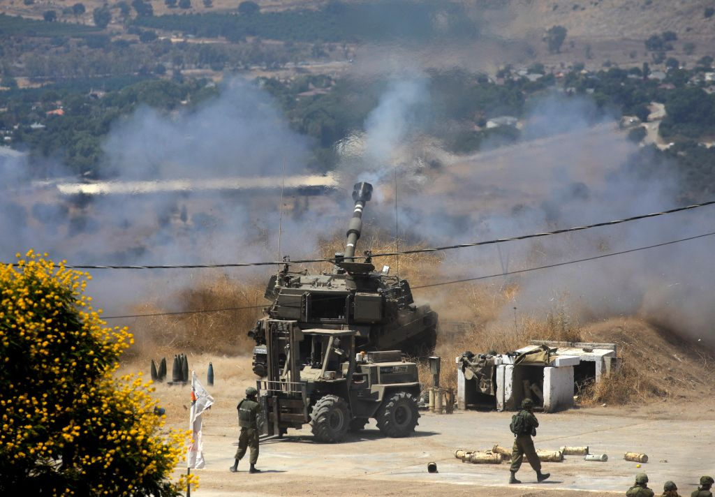 Israel reagiert auf Raketenbeschuss aus dem Libanon mit Artilleriefeuer