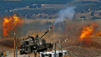 Erneut Raketenangriffe der Hisbollah und Gegenattacken aus Israel im Libanon