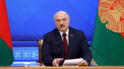 Tichanowskaja kritisiert erste EU-Sanktionen gegen Lukaschenko