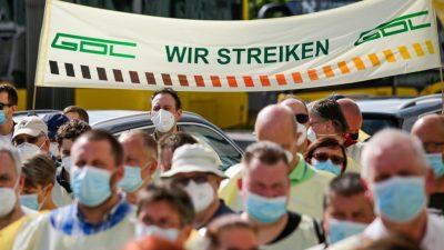 Neuer Bahn-Streik ab Samstag – Personenverkehr ab Montag betroffen