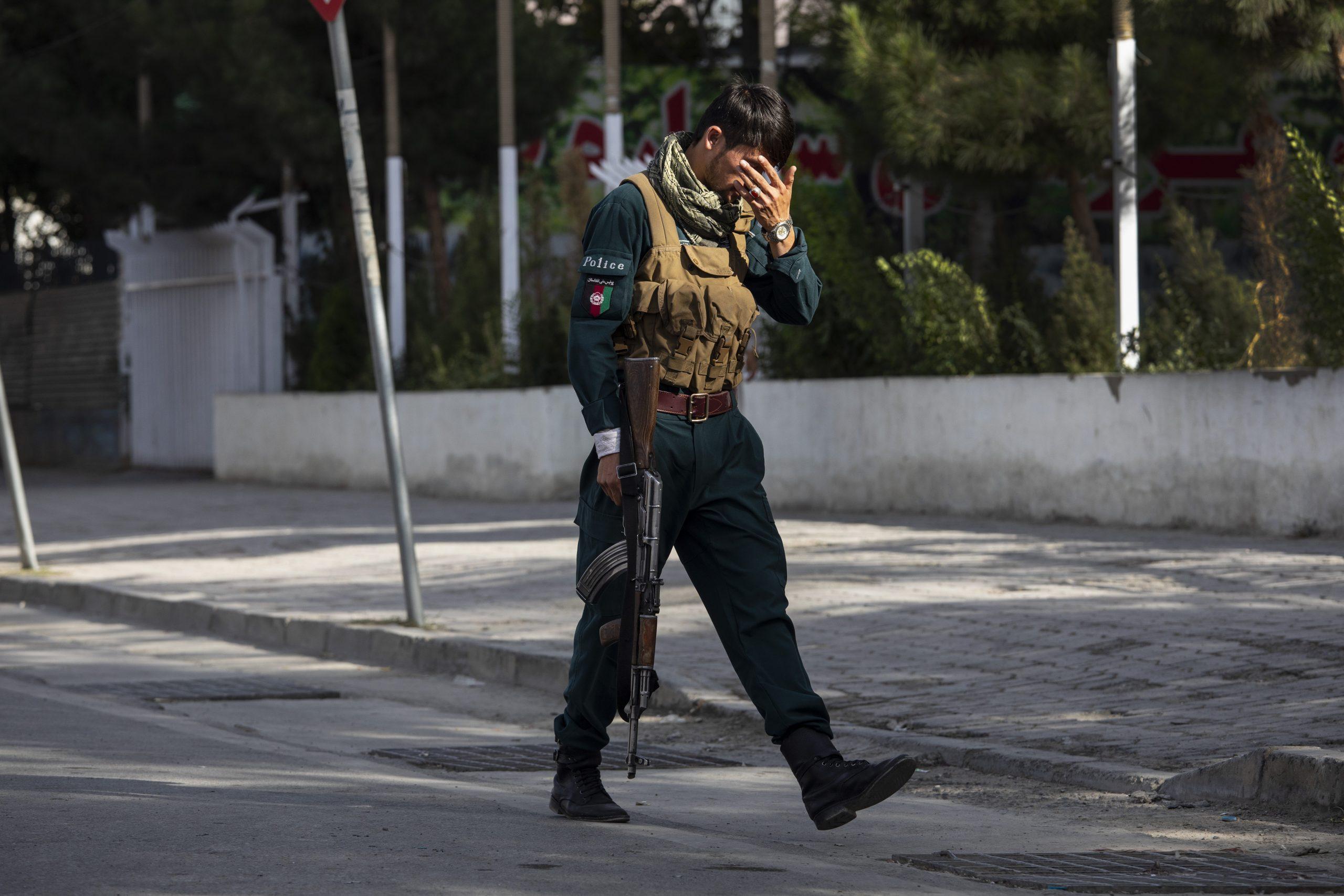 Kabul vor dem Fall an die radikalislamischen Taliban