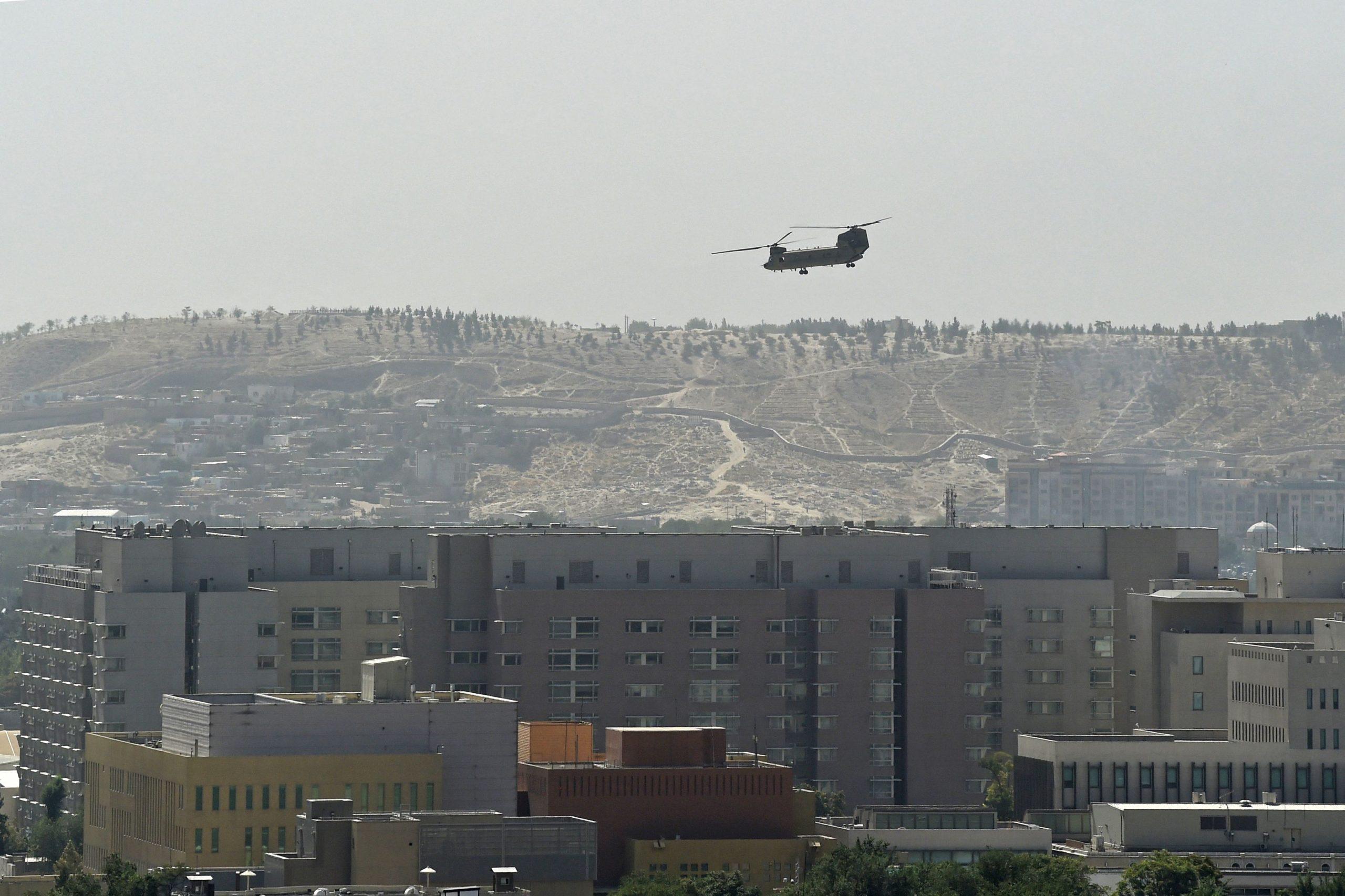 Taliban dringen in afghanische Hauptstadt Kabul ein