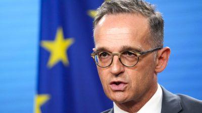 Maas will Ausreisen aus Afghanistan auch über Landweg ermöglichen
