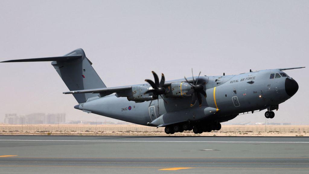"""Kabul: Air Force findet """"menschliche Überreste"""" im Radkasten von C-17"""