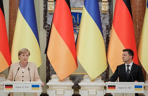 """Merkel: Russland darf Gas nicht als """"geopolitische Waffe"""" gegen Kiew einsetzen"""